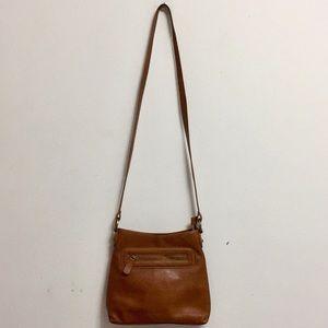 Hobo Intl Tan Leather Hobo Crossbody Bag